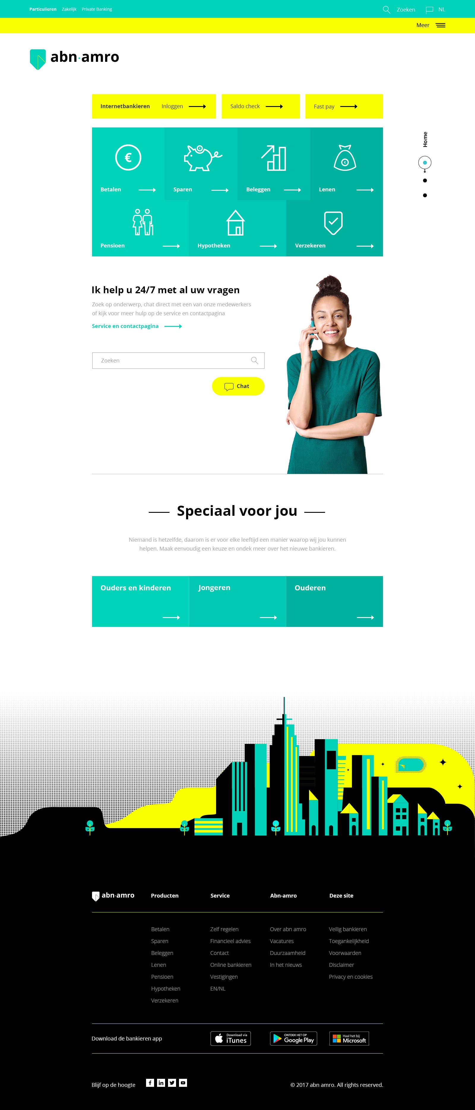 ABN-AMBRO Homepage