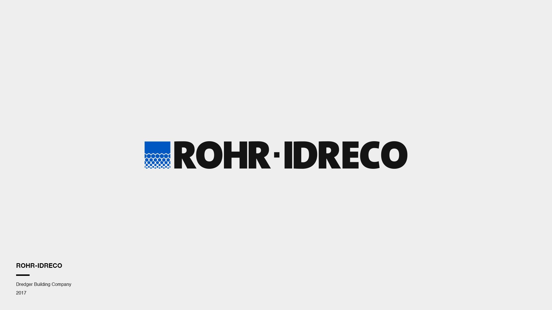 Logo ROHR-IDRECO